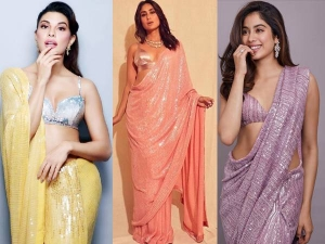 Celebrities Who Dazzled In Manish Malhotra Sequin Sarees