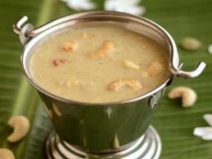Krishna Jayanthi Special Kerala Style Pasi Paruppu Payasam Recipe In Tamil