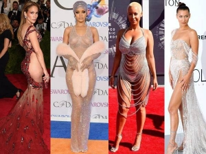 Top 10 Most Naked Red Carpet Dresses