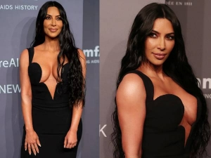 Most Memorable Black Dress Of Kim Kardashian In Amfar Gala New York
