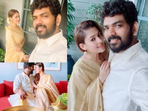 Onam 2020 Nayanthara And Vignesh Shivan In Traditional Outfits