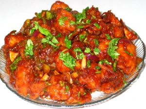 Soya Chunks Meal Maker Manchurian Recipe In Tamil