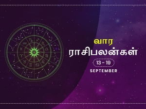 Weekly Horoscope For 13th 2020 To 19th 2020 September In Tamil