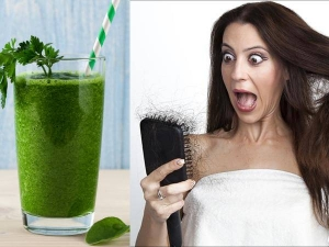 Curry Leaf Juice To Control Hair Fall