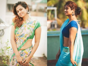Bigg Boss 4 Contestant And Actress Ramya Pandians Saree Looks