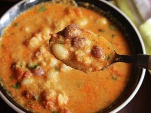 Butter Beans Kurma Recipe In Tamil