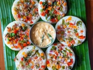 Vegetable Oothapam Recipe In Tamil