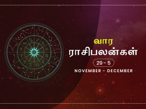 Weekly Horoscope 29th November 2020 To 5th December 2020 In Tamil