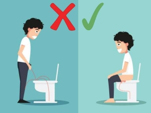 Why It Is Healthier For Men To Sit And Pee