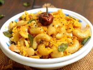 Karwar Style Cashew Sabzi Recipe In Tamil