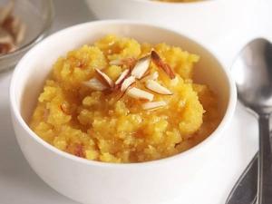 Chana Dal Halwa Recipe In Tamil