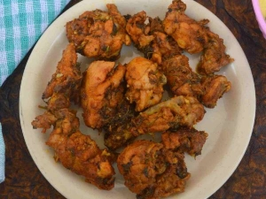 Coriander Chicken Roast Recipe In Tamil