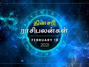 Daily Horoscope For 18th February 2021 Thursday In Tamil