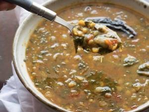 Palak Chana Dal Recipe In Tamil