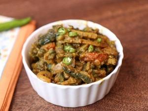 Bitter Gourd Masala Recipe In Tamil