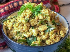 Chettinad Muttai Podimas Recipe In Tamil