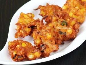 Sweet Corn Pakoda Recipe In Tamil