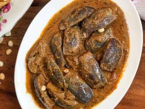 Chettinad Kathirikai Chops Recipe In Tamil