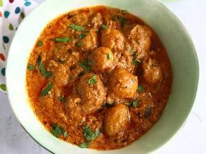 Tandoori Aloo Gravy Recipe In Tamil