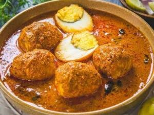 Chettinad Egg Kuzhambu Recipe In Tamil