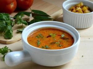 Thanjavur Style Masala Rasam Recipe In Tamil