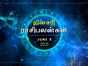 Daily Horoscope For 3rd June 2021 Thursday In Tamil