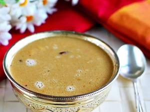 Aadi Perukku Special Aadi Thengai Paal Recipe In Tamil
