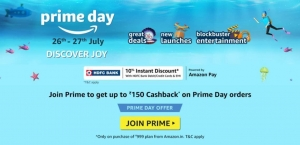 Amazon Prime Day Sale 2021 26 July Lightning Deals Offers Discounts