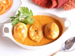 Egg Butter Masala Recipe In Tamil