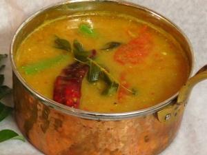 Coimbatore Style Drumstick Sambar Recipe In Tamil
