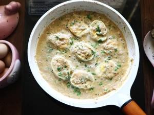 Egg Malai Masala Recipe In Tamil