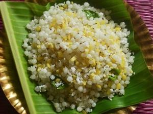 Navratri Special Sabudana Sundal Recipe In Tamil